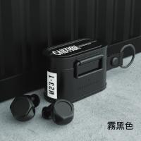 (thecoopidea)thecoopidea CARGO Military Style True Wireless Bluetooth Headset (Fog Black)