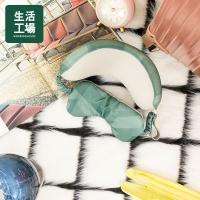 【Life Workshop】Floating Manji Eye Mask Neck Pillow-Green