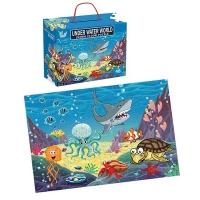 (Godmom)[I am a godmother] Underwater World Jigsaw Puzzle-48 pieces