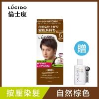 LUCIDO按壓式染髮霜(自然棕) (第一、二劑)