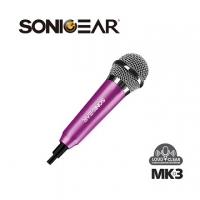 【SonicGear】MK-3 迷你收音麥克風_玫瑰紅