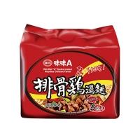 味味A排骨雞湯包麵(5包入)