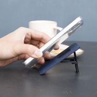 (rj)【Korea ergomi】Herix Bracket Magnetic Portable Card Holder College Blue