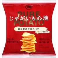 湖池屋 PURE POTATO奶油風味薯片 (58g)