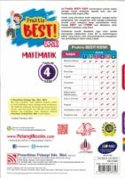 (PENERBITAN PELANGI SDN BHD)PRAKTIS BEST!MATEMATIK TAHUN 4 KSSR UPSR 2021