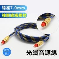 LineQ Braided 7.0 Fiber Audio Cable-5m