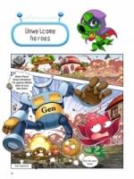Plants vs Zombies: Robots Comic ● Robot 02: Super Combat League