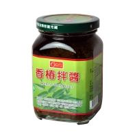 【康健生機】香椿拌醬(380g/罐)