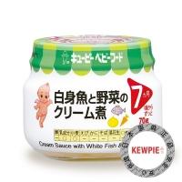 【日本Kewpie】P-72野菜白醬鱈魚泥70g