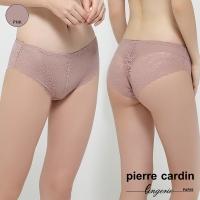 (皮爾卡登)[Pierre cardin pierre cardin women's underwear] lace mesh cloth lace flat pants-pink