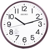 (seiko)SEIKO simple fashion sliding second hand silent clock wall clock (QXA677B)