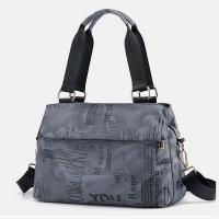 My Destiny Korean Wave Fashion-Printed Crossbody Bag Waterproof Bag 65024 (Blue Grey)