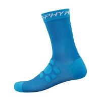 【SHIMANO】S-PHYRE 長筒車襪 藍