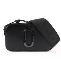 (馬克賈伯)MARC JACOBS scratch-resistant leather Snapshot DTM camera bag (all black) M0014867 001