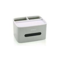 (Ecoco)ECOCO Desktop Storage Tissue Box Ash