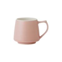 日本ORIGAMI Aroma 馬克杯 純色11色 霧色5色 (320ml) 霧粉紅