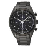 (seiko)SEIKO Sports Chronograph Black Steel Solar Watch V176-0BH0SD(SSC773P1)