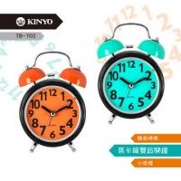 (KINYO)【KINYO】 Small Macaron Double Bell Mute Scan Alarm (702TB)