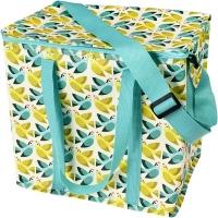 (Rex London)British Rex London Eco-friendly Large Picnic Bag/Insulation Bag/Cold Bag (With Crossbody Strap)_Lovebird_RL28947