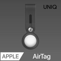 (uniq)UNIQ AirTag Vencer Silicone Hanging Ring Anti-lost Protective Case (with double-sided protective film) dark gray