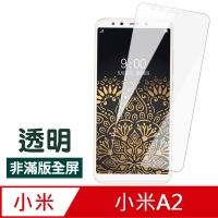 Xiaomi A2 Transparent HD Non-Full Version Anti-Scratch Protection Sticker