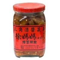 三角湧徐媽媽醬菜茶-榨菜辣椒450g