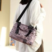 My Destiny Korean Wave Fashion-Printed Crossbody Bag Waterproof Bag 65024 (Pink)