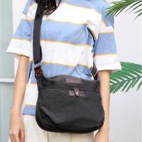 My Destiny Korean Wave Fashion-Harajuku Canvas Pouch 65038N (Black)