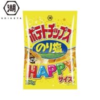 日本 湖池屋洋芋片歡樂包-海苔鹽風味(175g)