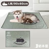 (貓本屋)Cat House Ice Crystal Soft Gel Pet Cooling Mat (L Size/90x60cm)-Sleeping Cat