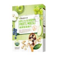 【米森 vilson】蘋果藍莓麥片(400g/盒)