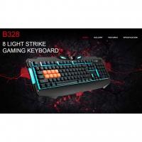 Bloody Light Strike 8-Infrared Switch Gaming Keyboard B328