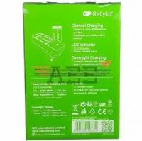 GP PB410 Charger include 2pcs AA Recyko+ 1000mAh