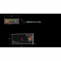 Bloody B700 Light Strike Mechanical Gaming Keyboard + FREE GIFT