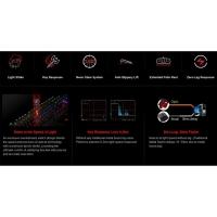 Bloody Light Strike Infrared Switch Mechanical Keyboard B740A + FREE GIFT