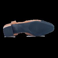 EV Slingback Block Heel - Brown - 002-00999
