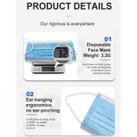 Disposable 3-Layer Face Mask 1box 50 PCS/ Mask Topeng 3 Ply