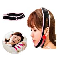 MALAYSIA: 2 DLM 1 (LANGSING WAJAH V SHAPE+ ELAK DENGKUR) Style V Shape Face Lift Up Belt Face-Lift Mask Face Shaper