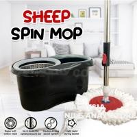 MALAYSIA O- 2 PCS Microfiber Cloth FREE 🌹🌹SET PERALATAN MOP + BERKAS MOP SPIN & WASH / SHEEP SPIN MOP