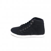 LA CLUB Women's Black Hight Cut Sneakers 1018L