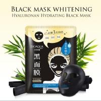 BIOAQUA Hyaluronic Hydrating Black Facial Mask (Net Wt: 30g)