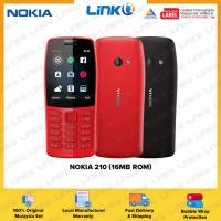 Nokia 210 (16MB ROM) Mobile Phone - Original 1 Year Warranty by NOKIA Malaysia (MY SET)