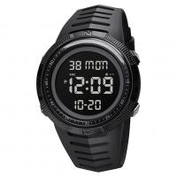 [Malaysia SKMEI] 1632 Men Sport Digital Watch Double Time Waterproof Countdown Stopwatch Chrono