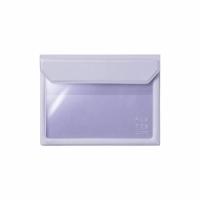 (kingjim)[KING JIM] 5360 FLATTY Lavender Purple Multipurpose Storage Bag (A6)