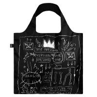 LOQI shopping bags - Museum Series (Basquiat - Crown JBCR)