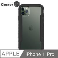 Apple iPhone 11 Pro 5.8吋軍規防摔金屬框手機殼-鋼琴黑