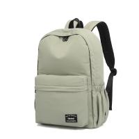 (Heine)Heine Heine WIN-219 Minimalist Backpack Silk Nylon Backpack Anti-theft Anti-splash Backpack-Grey