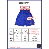 SELUAR PENDEK SUKAN LELAKI 4550/5#/ RUNNING SPORT PANT/ GYM & SPORT/ SELUAR PENDEK LELAKI/ MEN'S SPORT PANTS