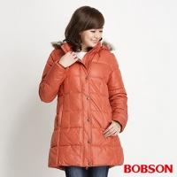 (BOBSON)【BOBSON】 female long version of cotton wool jacket (34109-15)