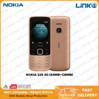 NEW [READY STOCK] Nokia 225 4G (64MB RAM + 128MB ROM) Mobile Phone - Original 1 Year Warranty by NOKIA Malaysia (MY SET)